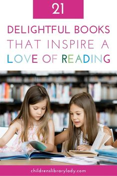 Inspire a love of reading in your classroom with these delightful books. Reading about characters who love books and reading will even inspire your students you don't love reading. #kidsbooks #picturebooks #kidslit