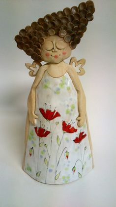 Prodané zboží od Akoča a Ufola Ceramics Projects, Clay Projects, Clay Crafts, Ceramic Figures, Clay Figures, Pottery Sculpture, Sculpture Clay, Clay Dolls, Art Dolls