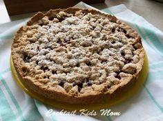 Kirschstreuselkuchen - Rezept - Backen - Obstkuchen -