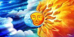 Sun & Moon Beach Towel