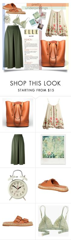 """Underpinning"" by imurzilkina ❤ liked on Polyvore featuring Ekphero, Mes Demoiselles..., Alexander McQueen, Polaroid, Disney, Newgate, Paloma Barceló and Madewell"