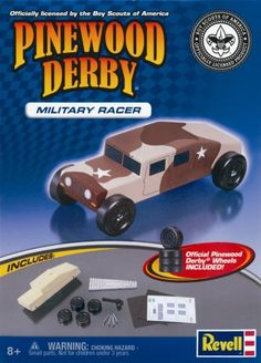 Revell Pinewood Derby Military Racer Kit Revell http://www.amazon.com/dp/B0031KXDPA/ref=cm_sw_r_pi_dp_2py4ub1MSCMNY