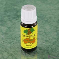 TEAFAOLAJ, 100%-os tisztaságú * 10 ml , (Melaleuca alternifolia) 10 ml, mindenkiszepsegaruhaza