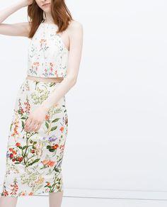 SILVIA STELLA OSELLA,ZARA Woman - skirt print on Behance