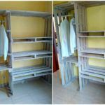 Pallet Closet – Wardrobe Made from Pallets