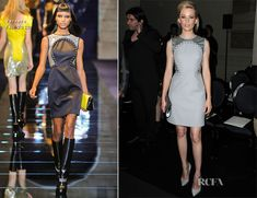 Elizabeth Banks In Versace – Atelier Versace Fall 2012 Fashion Show