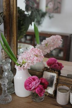 Masaki's diary | Page 11 Glass Vase, Shabby Chic, Flowers, Plants, Pictures, Home Decor, Style, Life, Photos