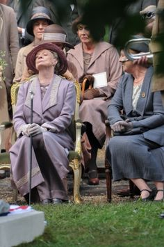 Season 5 Maggie Smith Penelope Wilton Dowager Countess Violet Grantham Isobel Crawley