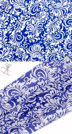 This Paisley Floral Hi Multi Chiffon Print is a lightweight, stylish and free flowing fabric. Royal Blue and Off White bounce off each other incredibly in this print. Hi Multi Chiffon is a great material for layered dresses, blouses, scarves, wraps, DIY hairpieces, even chair decorations and much more!