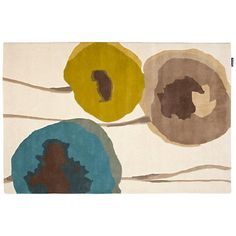 Buy Sanderson Poppies Rug, Teal/Olive Online at johnlewis.com