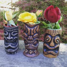 Beauty shots!  Thank you @tikipop  #ceramic #shotglasses #beachbumz #pretty #soakinginrum