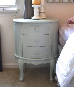Distressed Shabby Chic Robin's Egg Blue Side / by ShabbyChicLife, $99.00