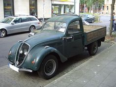 Peugeot 202 Pickup 1938-1940