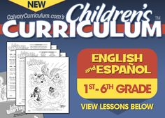 FREE Bible Curriculum for Preschool through 6th Grade, and even Spanish!