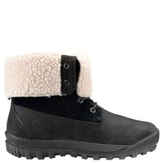 Winter weather, watch out for Timberland's women's Woodhaven waterproof boots.