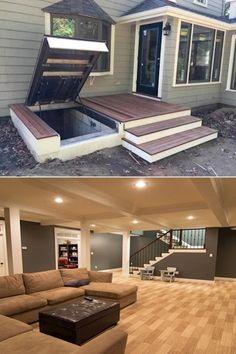 rec basement bungalow remodeling remodel providentdecor danyelleclegges