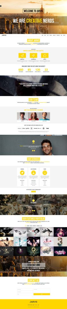 Jarvis - Onepage Parallax Theme http://themeforest.net/item/jarvis-onepage-parallax-theme/4773311?ref=wpaw #web #design #parallax