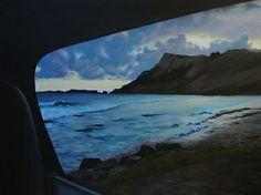 """Saatchi Art Artist Emily Baker; Painting, """"Anse de Grand Fond"""" #art"""