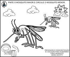 Atividade contra Zika Virus, educação Infantil
