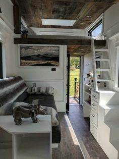 24ft Rustic Arcadia Tiny House by BB Tiny Houses 005