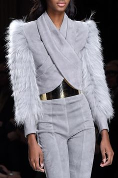 Balmain at Paris Fashion Week Fall 2016 - Livingly