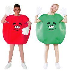 Costumes pour couples Bonbons - Rouge et Vert #déguisementscouples
