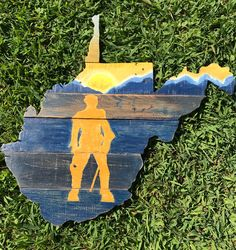 A personal favorite from my Etsy shop https://www.etsy.com/listing/552709033/wvu-mountaineer-sign-reclaimed-wood-wv