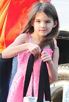 Suri Cruise sighting at Chelsea Piers on July 12, 2012 in New York City.