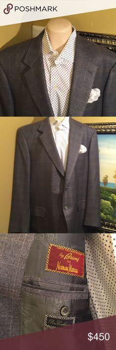 BEAUTIFUL BRIONI 100% PURE CASHMERE BLAZER Beautiful BRIONI 100% pure cashmere blazer hands made in ITALY excellent condition Brioni Suits & Blazers Sport Coats & Blazers