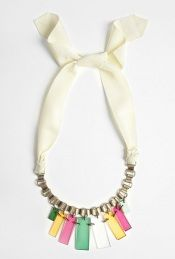 By Malene Birger - Cream & Gold Planso Necklace