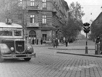 1948, Bajcsy-Zsilinszky út, (1950-től) 5. és 6. kerület Budapest Hungary, Street View, Utca