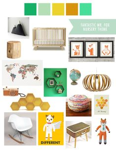 Fantastic Mr. Fox / Naturistic / Traveling Nursery Theme for our little boy.