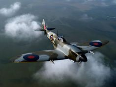Spitfire BRITISH  EQUIP TO P51 ALMOST