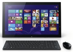 Sony VAIO SVT21217CXB 21.5-Inch All-in-One Touchscreen Desktop Sony