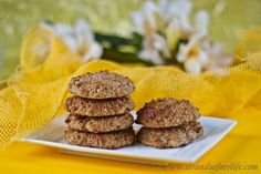 Coconut Banana Cookies. Recipe by: www.strandsofmylife.com