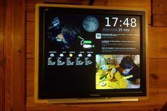 """Comment afficher tout un tas d'informations sur un vieil écran LCD depuis un Raspberry Pi    L'idée est de créer ce que les anglais appellent un """"dashboard"""" : en fait, une unique page web qui sera hébergée sur un Raspberry Pi et affichée sur un écran LCD de récupération. La page web se voudra le plus personnalisable possible et contiendra des modules à activer selon nos envies / besoin comme, par exemple :..."""