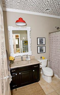 Super cool bathroom redo