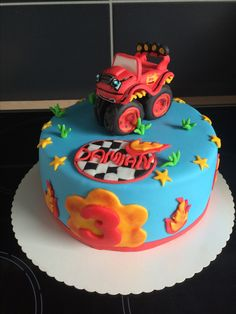 Blaze Monstertruck Torte