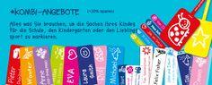 Namensettiketten, Sticker usw. super Idee um Kleidung, schuhe, Brotzeitboxen oder Hefte zu markieren