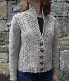 Autumn Morning Cardigan Knitting pattern by Danielle Chalson - Outfits for Work Knit Cardigan Pattern, Dress Gloves, Knit Picks, Knitting Stitches, Knitting Wool, Hand Knitting, Knit Patterns, Sweater Knitting Patterns, Cardigans For Women