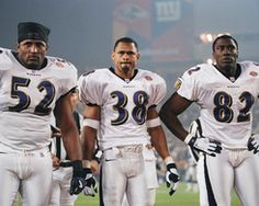 Ravens 2000 Super Bowl Champs: Ray Lewis, James Trapp and Shannon Sharpe