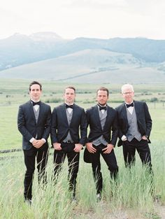 There's nothing more romantic than tying the knot at the very place your love story began. For this couple, that special place is the groom's family ranch in Montana. Tie The Knots, Groomsman Gifts, Groomsmen, Montana, Love Story, Ranch, Romantic, Weddings, Bride