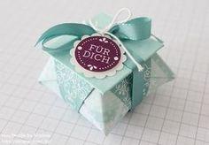 Stampin Up Anleitung Tutorial Mini Origami Box