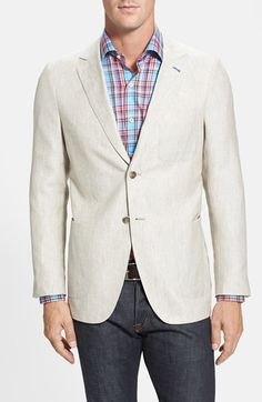 Peter Millar Linen Soft Sport Coat available at #Nordstrom