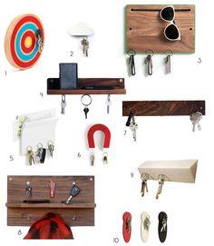 Hang Ups: 10 Magnetic Key Holders for Easy Organization