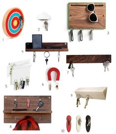 Hang Ups: 10 Magnetic Key Holders for Easy Organization