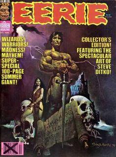 Sword - Warren Magazine - Collectors Edition - Wizards - Warriors