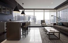 Gowlings Office by Kasian Architecture Interior Design and Planning Ltd - Office Snapshots Modular Lounges, Modular Sofa, Interior Architecture, Interior Design, Hospitality Design, Small Office, Types Of Houses, Home Office Furniture, Office Interiors