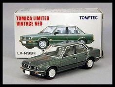 Tomica Limited Vintage NEO LV-N93c BMW 325i 4 door 1/64 TOMY TOMYTEC NEW Diecast Diecast Model Cars, Expensive Cars, Wood Carving, Hot Wheels, Hobbies, Trucks, Sign, Storage, Random
