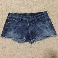 Citizens of Humanity Jean Shorts Authentic Citizens of Humanity denim shorts. 98% cotton and 2% elastan which makes the shorts super soft and can stretch. In perfect condition! Citizens of Humanity Shorts